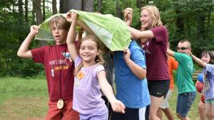 Summer camp kids at Shaver's Creek Environmental Center